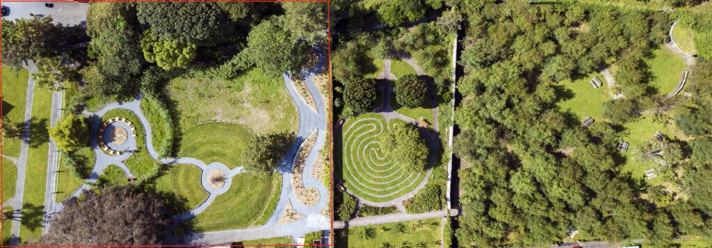 overview of garden