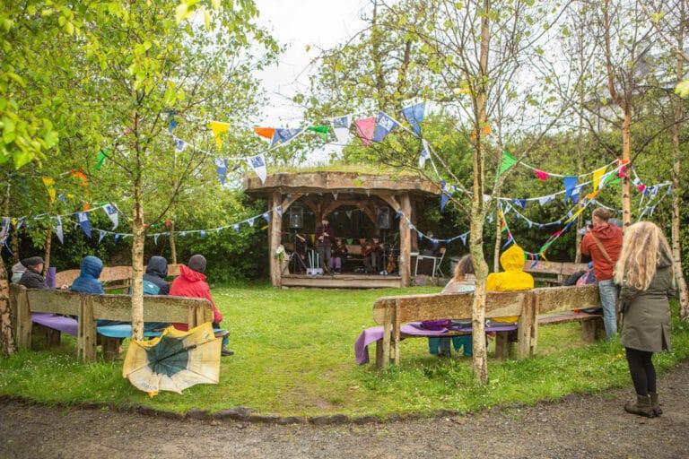 Family Tree garden at an Díseart