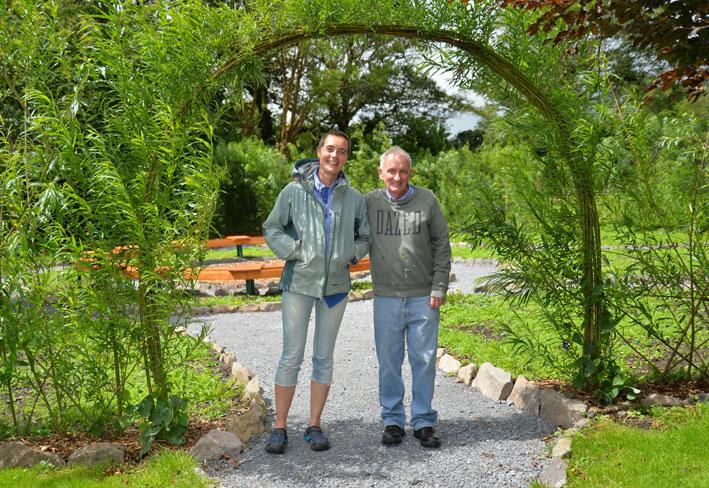 Tom and Breda Sensory Garden An Díseart